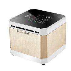 Review Nuobio Home Offic Mini Air Purifier J003 Gold Terbaru