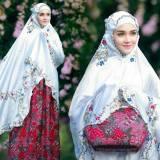 Beli Nuranitex Busana Muslim Mukena Yoryu Bordir Syahrini Batik Antik Kualitas Terbaik Seken