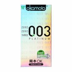 Jual Beli Online Okamoto Platinum 003 10S