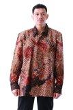 Jual Oktovina Houseofbatik Kemeja Batik Tulis Sutra Baron Batik Tulis Premium Ktb 1 Cokelat Hitam Satu Set