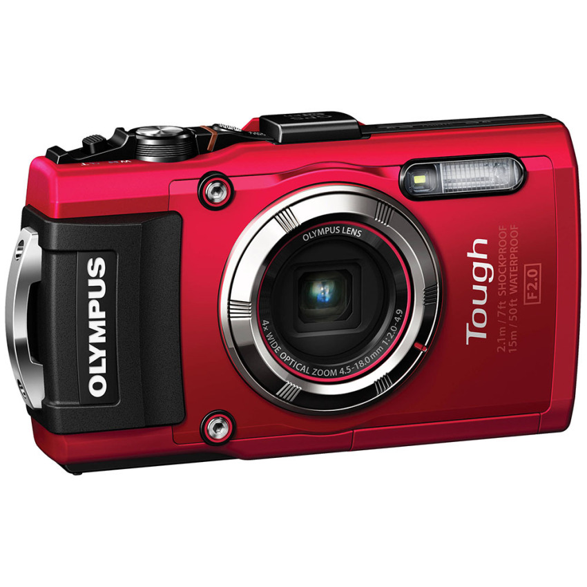 Beli Olympus Stylus Tough Tg 3 Digital Camera 16Mp 4X Optical Zoom Merah Pakai Kartu Kredit