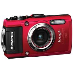 Beli Barang Olympus Stylus Tough Tg 3 Digital Camera 16Mp 4X Optical Zoom Merah Online