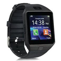 Toko Onix Cognos Smartwatch Dz09 Gsm Sim Card Full Hitam Strap Karet Lengkap
