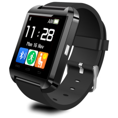 Harga Onix Cognos U Watch U8 Smartwatch Original Strap Rubber Hitam Terbaru