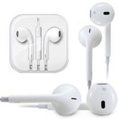 Review Original Handsfree Headset Apple Earphone Iphone 5 5C 5S Putih Di Dki Jakarta