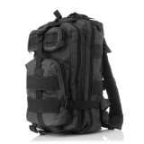 Toko Outdoor Camouflage Military Fans Mountaineering Backpack Travel Hiking Bag Tactical Backpack Black Yang Bisa Kredit