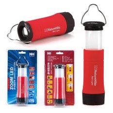 Outdoor Portable Multifungsi Camping Lamp 3 Mode LED Senter Tenda Lentera untuk Memancing Hiking (Merah)