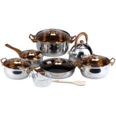 Ulasan Oxone Peralatan Masak Ox 933 Cookware Set 8 In 1