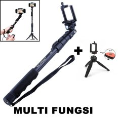 Paket Selfie Multi Fungsi : Yunteng Monopod Tongsis + Tripod Mini Multi fungsi