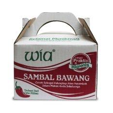 Diskon Paket Wia Sambal Bawang Mix Lv Pedas Isi 6 Wia Di Jawa Timur