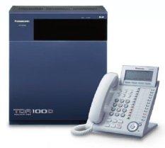 Panasonic IP PABX PBX KX-TDA100D + KX-DT333 Kap. 8 Line - 28 Extension