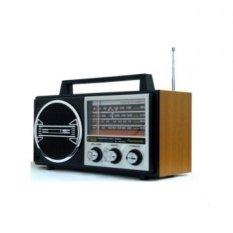 Panasonic Radio 4Band Kayu RL-4249MK3 Included Adaptor