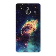 PC Plastic nebula cosmic blast Case for Microsoft Lumia 640 XL black