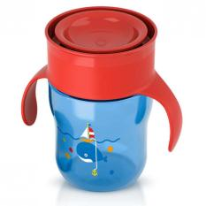 Jual Philips Avent Grown Up Cup Blue Red 260Ml 9M Satu Set