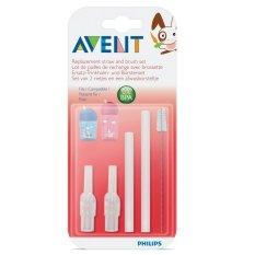 Philips Avent - Replacement Straw and Brush Set Sedotan dan Sikat Pengganti Cadangan