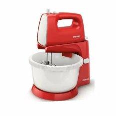 Philips HR1559 Hand Stand Mixer Com - Merah
