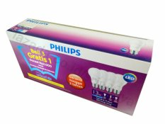 Harga Philips Led Bulb 13W Unicef Beli 3 Gratis 1 Putih Terbaik