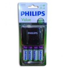 Harga Philips Recharge 4 Baterai Aa New