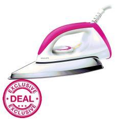 Beli Philips Setrika Hd 1173 40 Putih Pink Terbaru