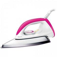 Philips HD1173 Setrika Listrik - Putih-Merah Muda