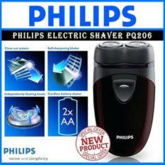 Harga Philips Shaver Pq206 Hitam Maroon Dan Spesifikasinya