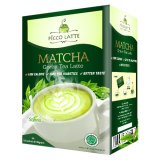 Picco Latte Matcha Green Tea Latte Stevia Kemasan Box Original