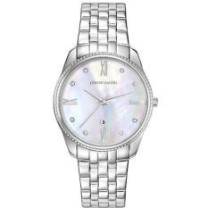 Pierre Cardin - Jam Tangan Wanita - Silver-Putih - Stainless Steel - PC107572F08