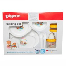 Review Pigeon Feeding Set With Training Cup Alat Makan Bayi Pigeon