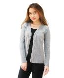 Spesifikasi Pinkbunnylabel Cardigan Sweater Rajut Wanita Abu Bagus