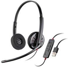 Spesifikasi Plantronics Stereo Usb Headset Blackwire C320 M Yang Bagus Dan Murah