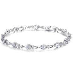 Toko Platinum Disepuh High End Eropa Dan Amerika Fashion Perhiasan Aaa Diamond Gelang Diamond Gelang Yib028 Oem Hong Kong Sar Tiongkok
