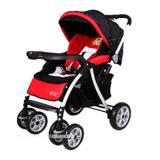 Promo Pliko Alloy Stroller S598Al Kereta Dorong Bayi Merah