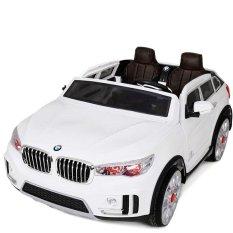 Spesifikasi Pliko Mobil Aki Bmw New X8 2 Kursi Putih Dan Harganya