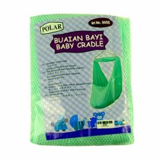 Polar Kain Ayun Basic Buaian Bayi - Green By Love Baby Shop.