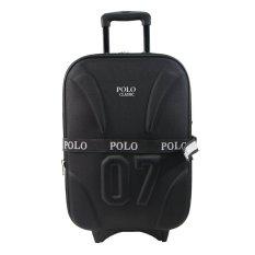 Polo Classic 5620 Tas Koper Kabin 20 inch - Black - Tas Travel - Gratis Pengiriman Khusus JABODETABEK