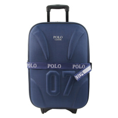 Model Polo Classic 5620 Tas Koper Kabin 20 Inch Blue Tas Travel Gratis Pengiriman Khusus Jabodetabek Terbaru