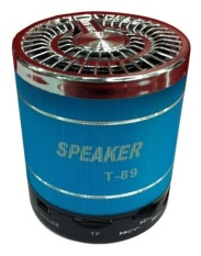 Review Portable Speaker T 89 Biru South Sumatra