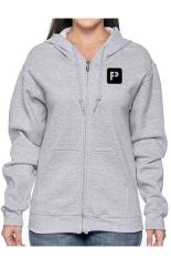 Toko Positive Outfit Hoodie Zip Up Positive Abu Abu Positive Outfit Online