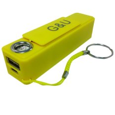Powerbank 2600mAH with Lighter - Kuning