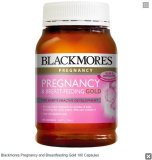 Spesifikasi Pregnancy And Breastfeeding Gold 180 Capsules Yang Bagus