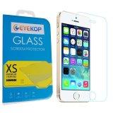 Promo Premium Tempered Kaca Film Pelindung Layar Untuk Iphone 5 5 S 5C Clear Akhir Tahun