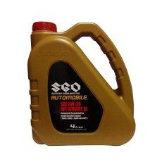 Suzuki Genuine Oil SGO 5W-30 Synthetic Automobile Oli Mobil Mesin Bensin 4 Liter