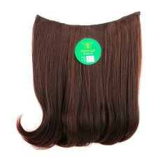 Instaclip Hairclip Short Blow 40 cm Darkbrown  / Hair clip klip Lurus Korea Coklat Tua Big Layer Full head