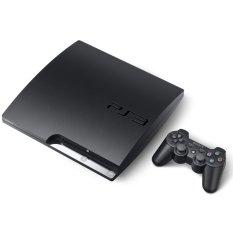 PS3 1TB FULL Games Cfw Multiman + Paket Lengkap - Sony Playstation 3 Slim - Hitam