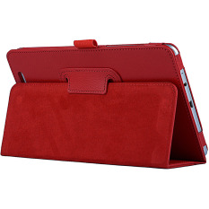 PU Leather Cover for Acer Iconia Tab 8 W W1-810 Windows 8.1 (Red)
