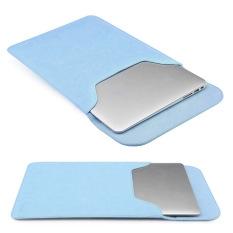 Diskon Pu Kulit Lengan Laptop Tas Komputer Cover Untuk Macbook Air 11 6 Laptop Biru Oem