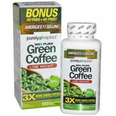Beli Purely Inspired Green Coffee Bean Suplemen Pelangsing 800 Mg 100 Kapsul Original Usa By Purely Inspired Purely Inspired Asli