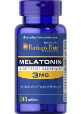 Cuci Gudang Puritan Melatonin 3 Mg Isi 240 Tablet