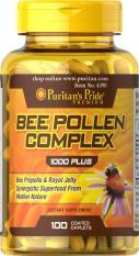 Toko Puritan Pride Bee Pollen Complex 1000 Mg 100 Kaplet Murah Indonesia