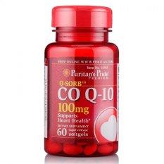Harga Puritan Pride Coenzyme Q Sorb Co Q 10 100 Mg 60 Softgels Puritan Pride Online